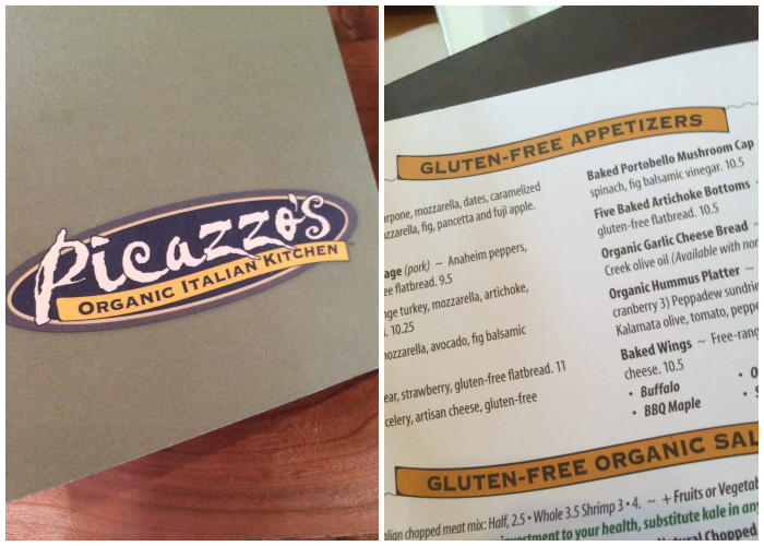 Gluten Free Dining in Scottsdale, AZ at Picazzo's Organic Italian Kitchen #ScottsdaleAZ