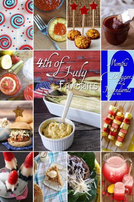 4th of July Picnic Favorites...you'll want to check out all these recipes for you 4th of July party.