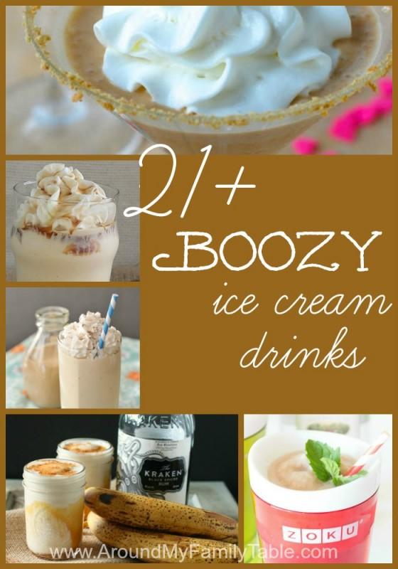 Alcoholic Ice Cream Drinks