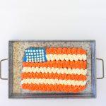 Giant Patriotic Cookie Cake