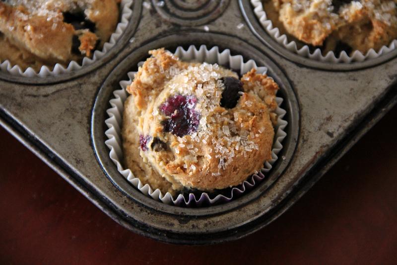 Gluten Free - Vegan Blueberry Muffins