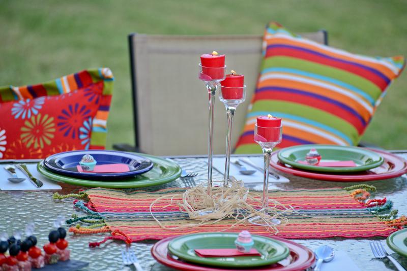 Summer Outdoor Oasis Party & Menu
