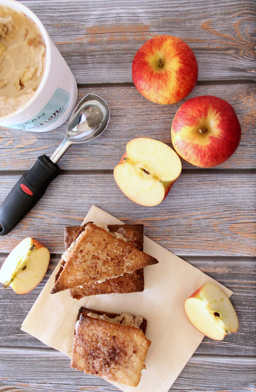 apple pie ice cream sandwiches {gluten free & dairy free}