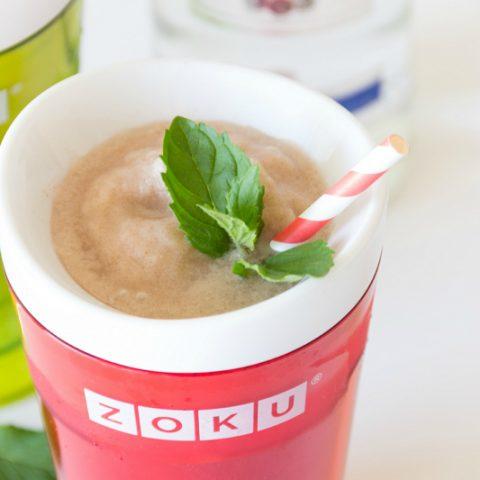 Boozy Horchata Slushies