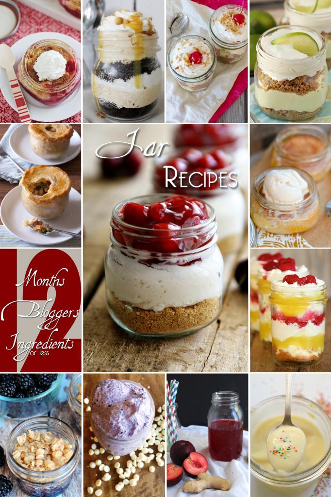 12 Amazing Recipes in Jars #12bloggers