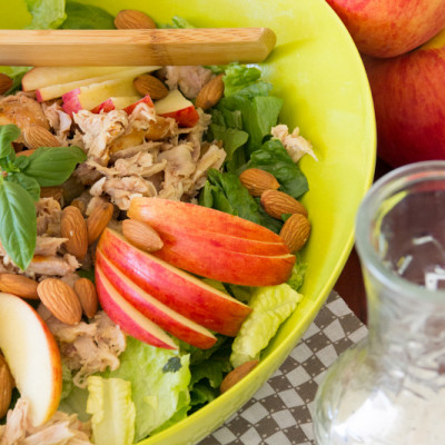 Apple & Chicken Salad with Honey Poppyseed Dressing