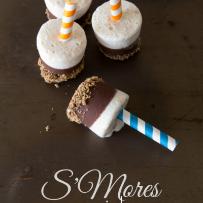 S'Mores Popsicles
