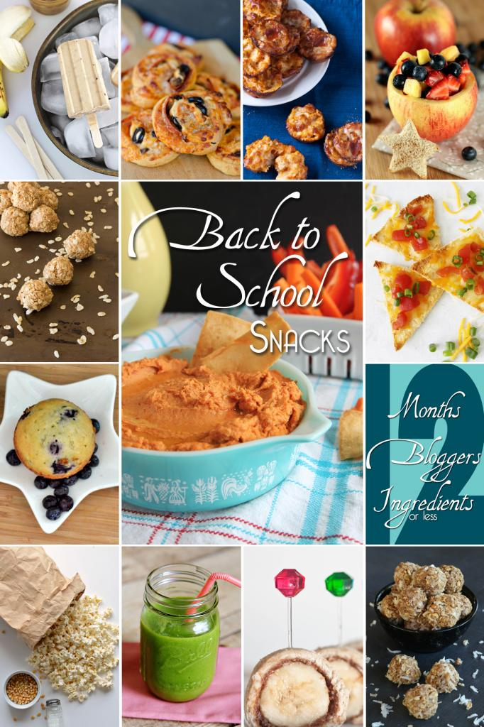 12 Easy After School Snacks