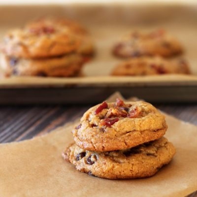 Bacon & Chocolate Chip Cookies