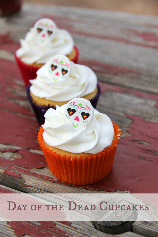 Day of the Dead Cupcakes