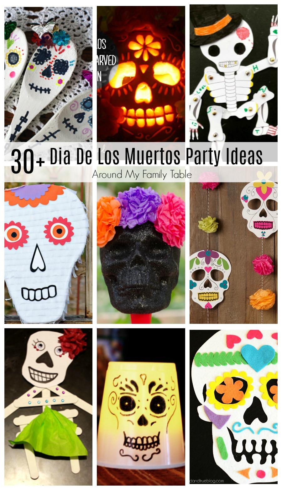 CelebrateDia De Los Muertos (Day of the Dead) with these colorful & festiveDia De Los Muertos Party Ideas.