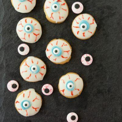 Halloween Eyeball Cookies