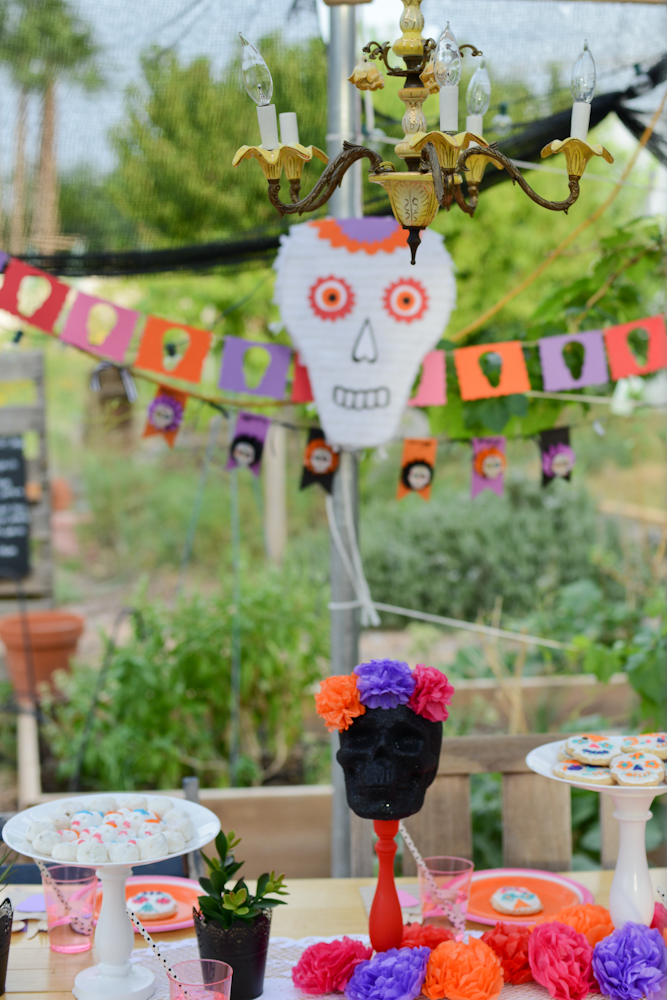 Day of the Dead Party for Kids