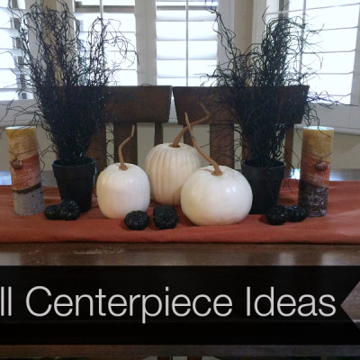 Easy Fall Centerpiece Idea