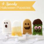 4 Spooky Halloween Popsicles
