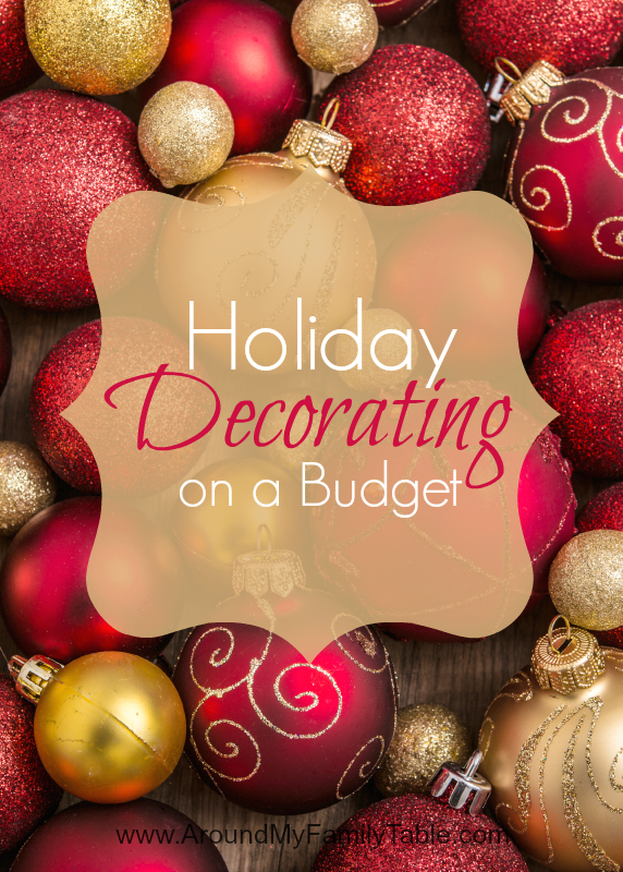 I love decorating my house for the holidays, but I try to keep my spending in check. These are my tips to keep me {and you} on a budget when decorating for the holidays. I hope y'all enjoy these tips and tricks for Holiday Decorating on a Budget.
