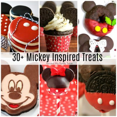 30+ Mickey Inspired Treats