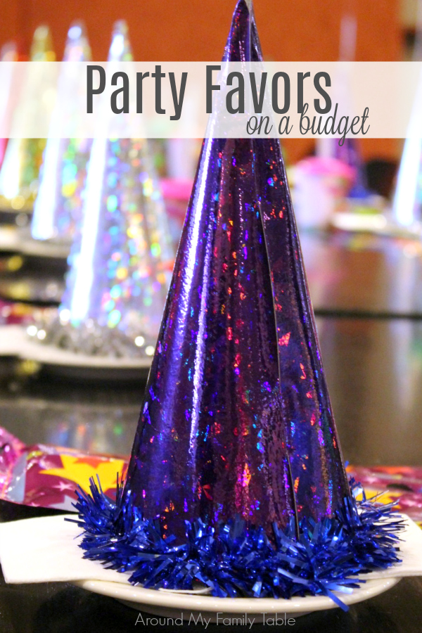 Birthday party costs add up quickly!  Save money with my Party Favors on a Budget ideas or make your own party favors.