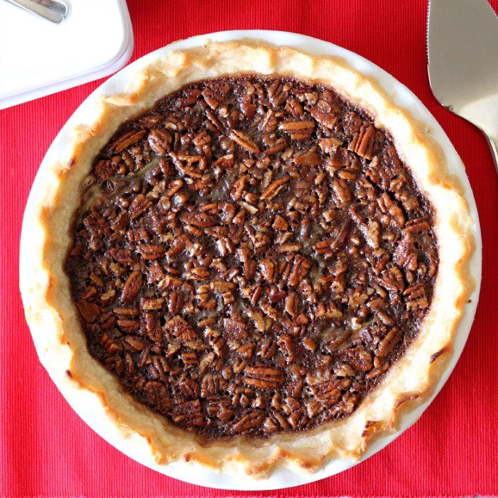 Bacon Bourbon Chocolate Pecan Pie