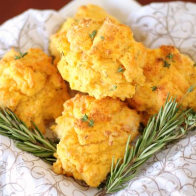 Herbed Sweet Potato Biscuit Recipe
