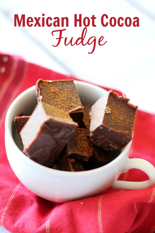 Mexican Hot Cocoa Fudge