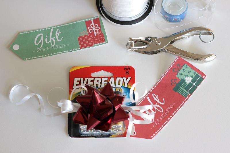 Fun & Practical White Elephant Gift Idea {plus a free printable}