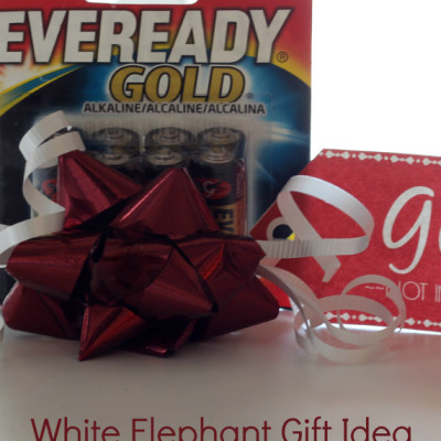 White Elephant Gift Idea & Free Printable