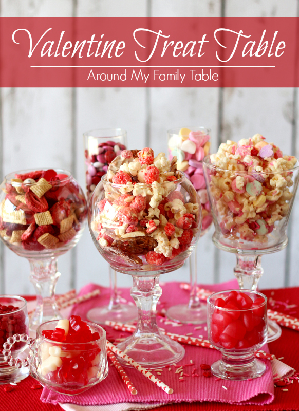 My Valentine's Treat Table is filled with fun, kid-friendly dessert recipes for Valentine's Day that everyone will love!