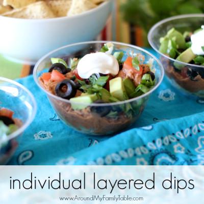 Individual Layered Dips