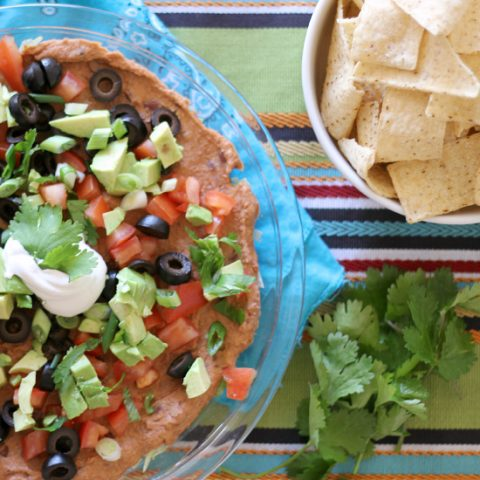 healthy layered dips
