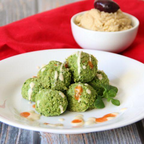 Pea-lafel Appetizer Bites