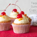 Tequila Sunrise Cupcakes