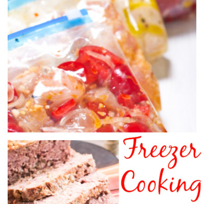 Tips for Getting Started with Freezer Cooking