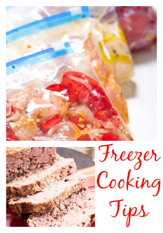 Tips for Getting Started with Freezer Cooking plus an Easy Freezer Meatloaf Recipe