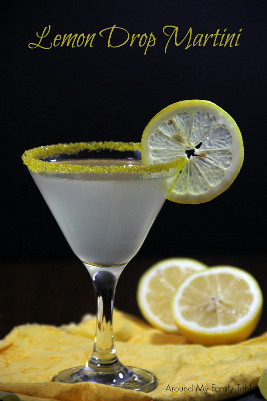 Easy Lemon Drop Martini