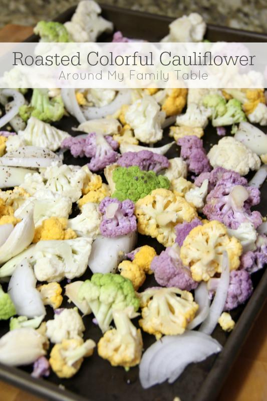 Roasted Colorful Cauliflower