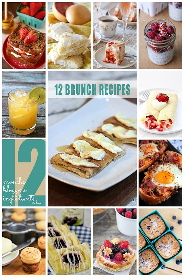 12 Brunch recipes with 12 Ingredients or Less
