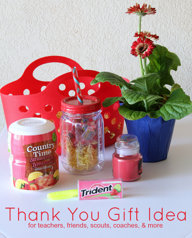 Thank You Gift Idea for teachers, friends, scouts, coaches & more
