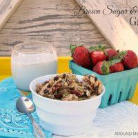 Brown Sugar and Maple Granola