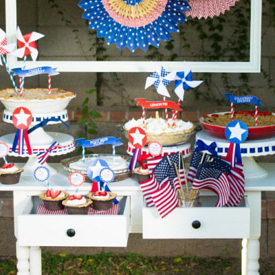 4th of July Party Decoration and Food Ideas