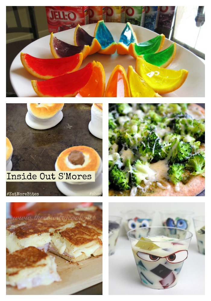 Wondering what to serve at an Inside Out Party? Here are some fun ideas....including the pizza that San Francisco ruined!