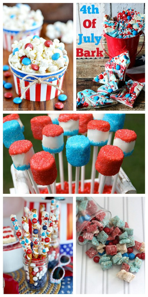 ~No Fail 4th of July Sweet Snacks