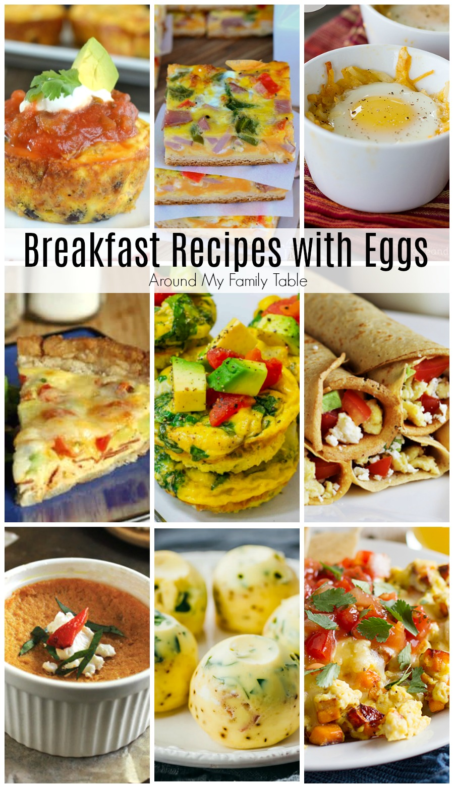 No matter how you choose to cook your eggs, these Breakfast Recipes with Eggs are an egg-cellent choice to start your day. #breakfastrecipes #eggrecipes