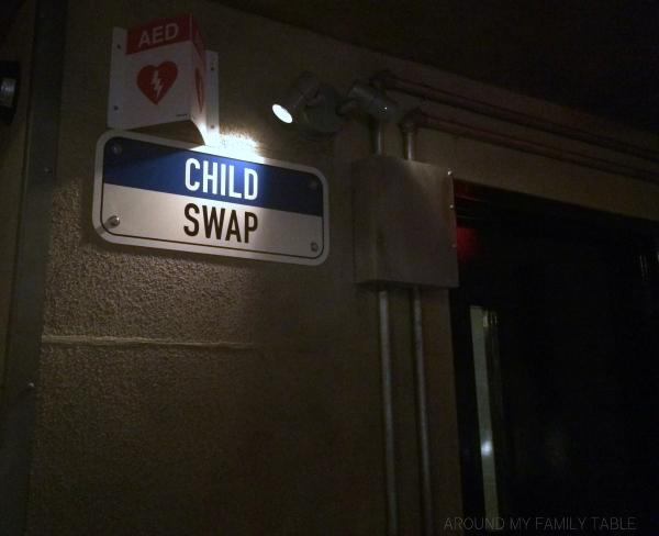 child swap rooms at universal studios orlando