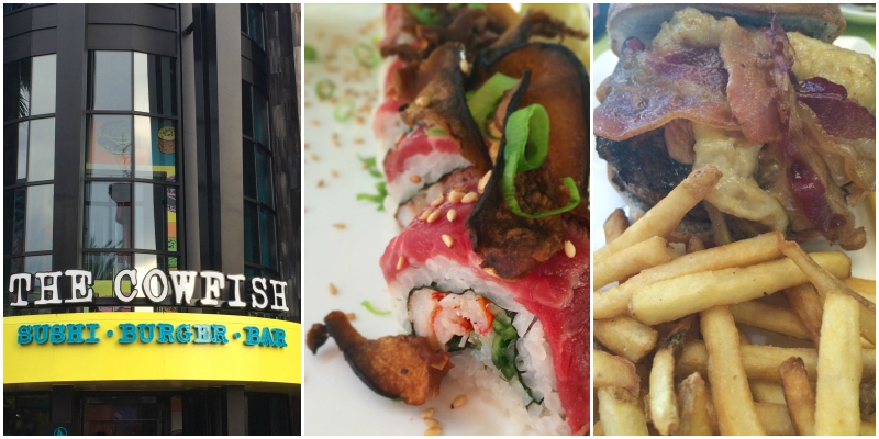 Dining at CowFish in Universal Orlando's City Walk