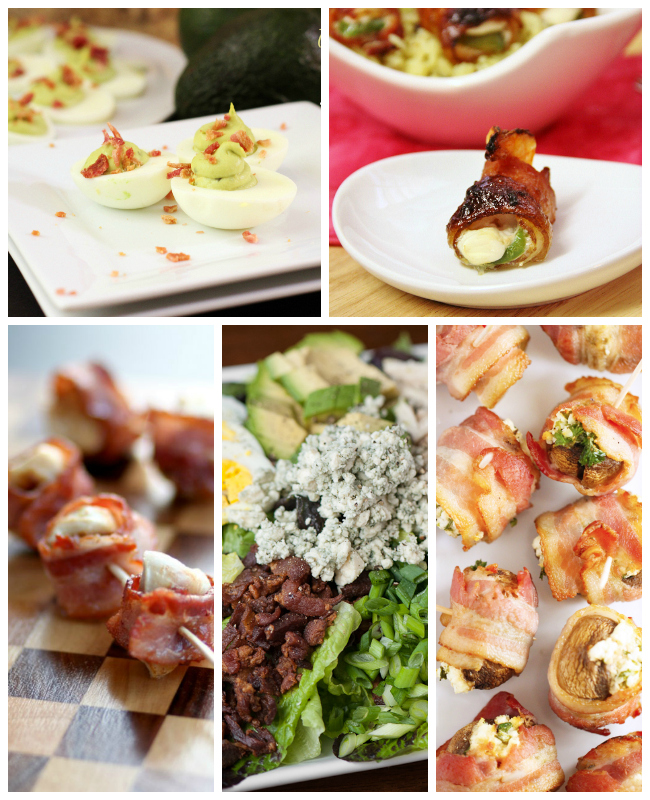 5 Small Bacon Bites....25 No Fail Bacon Meal Solutions & Recipes
