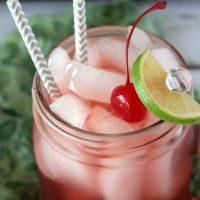 Boozy Cherry Limeade Recipe