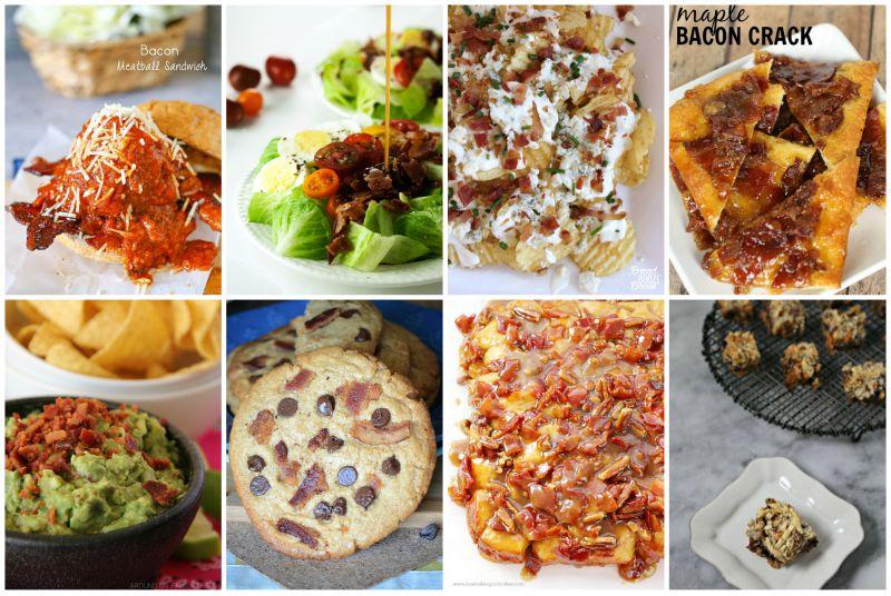 8 Glorious Recipes using Bacon!
