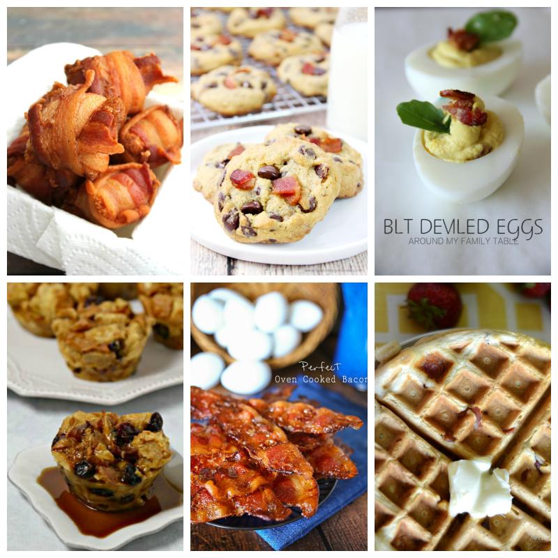 6 delicious BACON recipes