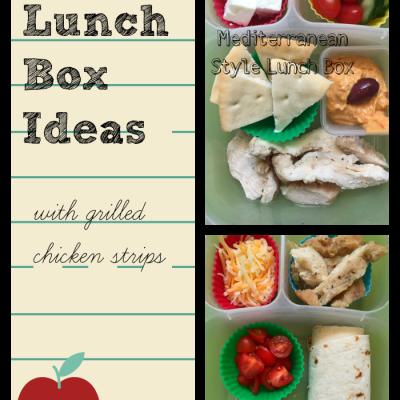 2 Easy Lunch Box Ideas